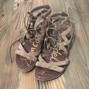 Sam Edelman wrap up sandals!